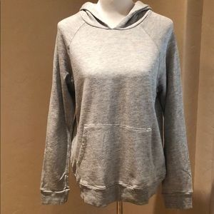 NWOT Sundry Grey Hooded Pullover Sweatshirt Size 3